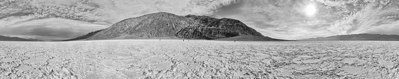 Badwater Basin - alternate B & W